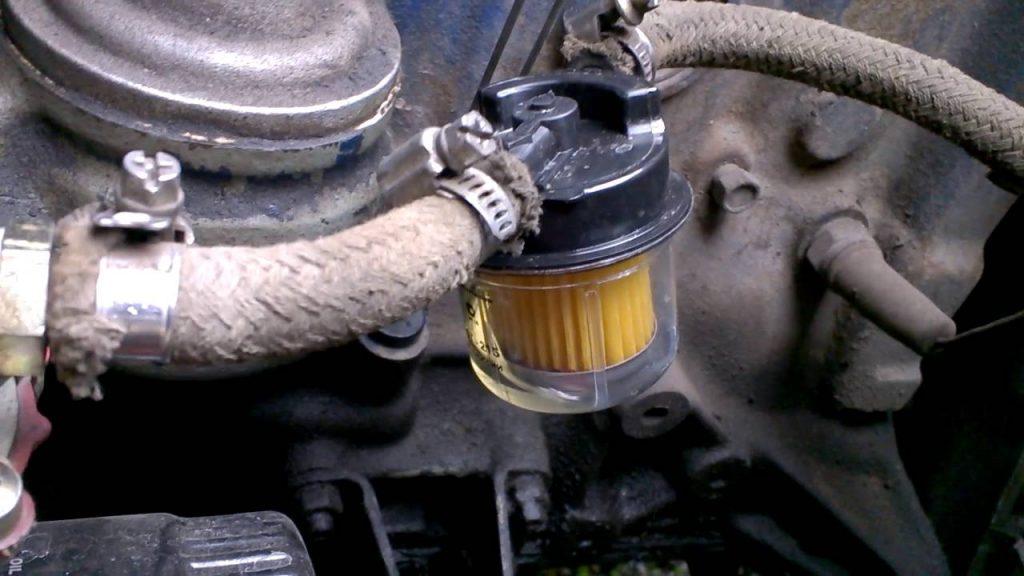 Внешний вид фильтр тонкой очистки топлива ВАЗ