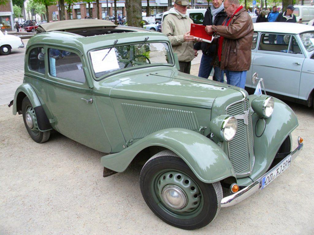 «Adler Trumpf Junior» 1936 года