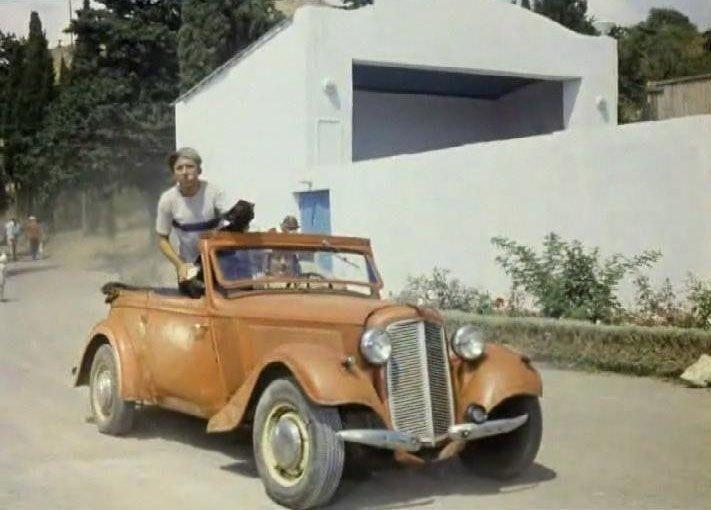 «Adler Trumpf» 1936 —1937 года с кузовом кабриолет фирмы «Karmann»