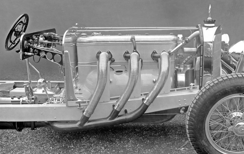 Двигатель Mercedes-Benz семейства S, SS, SSK, SSKL