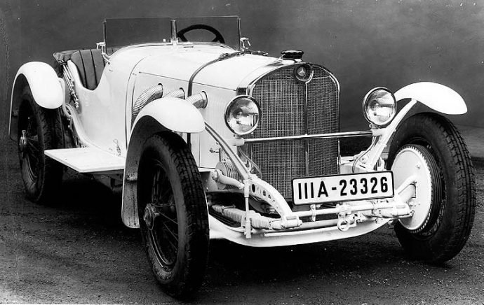 История Mercedes-Benz семейства S, SS, SSK, SSKL