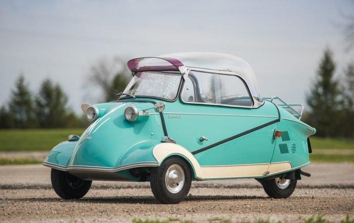 История трехколесного автомобиля