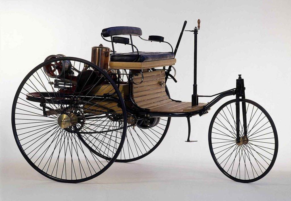 Первый автомобиль Карла Бенца 1886 года