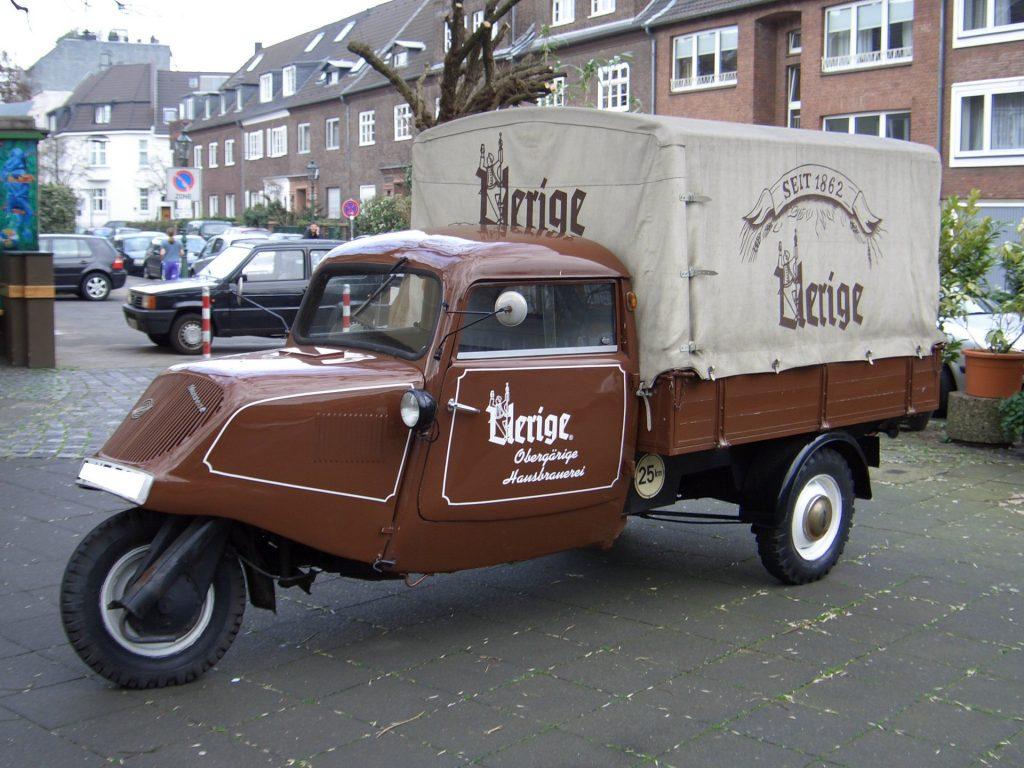 Легкий пикап «Tempo-Boy» 1953 года