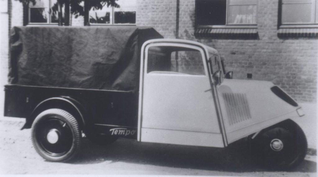 Грузовой переднеприводный «Tempo-Front» 1934 года