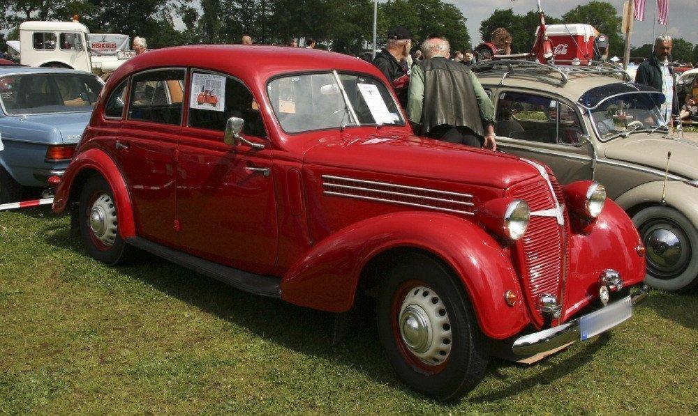 Самая поздняя модификация «Adler Trumpf» 1938 — 1940 годов