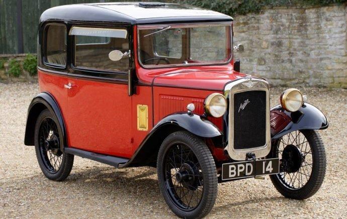 История автомобиля Austin-7