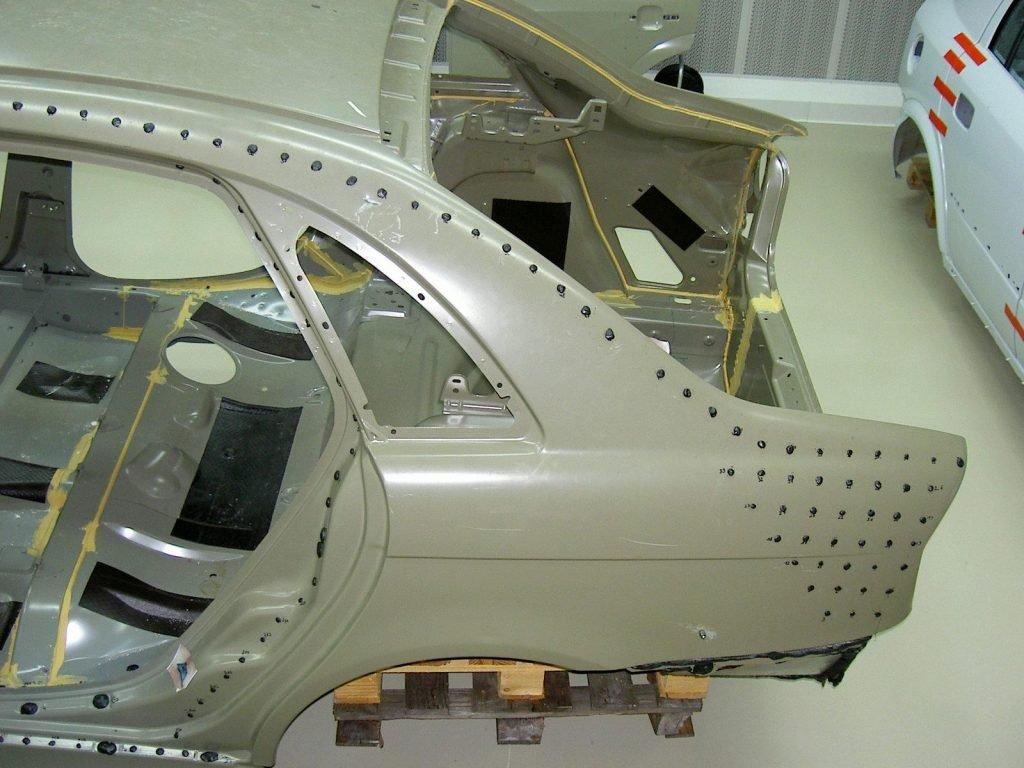 Несущий кузов современного автомобиля