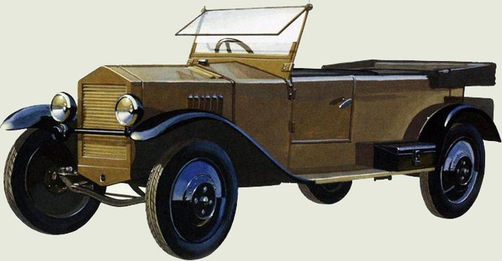 Опытный образец НАМИ-1 конца 1927 года
