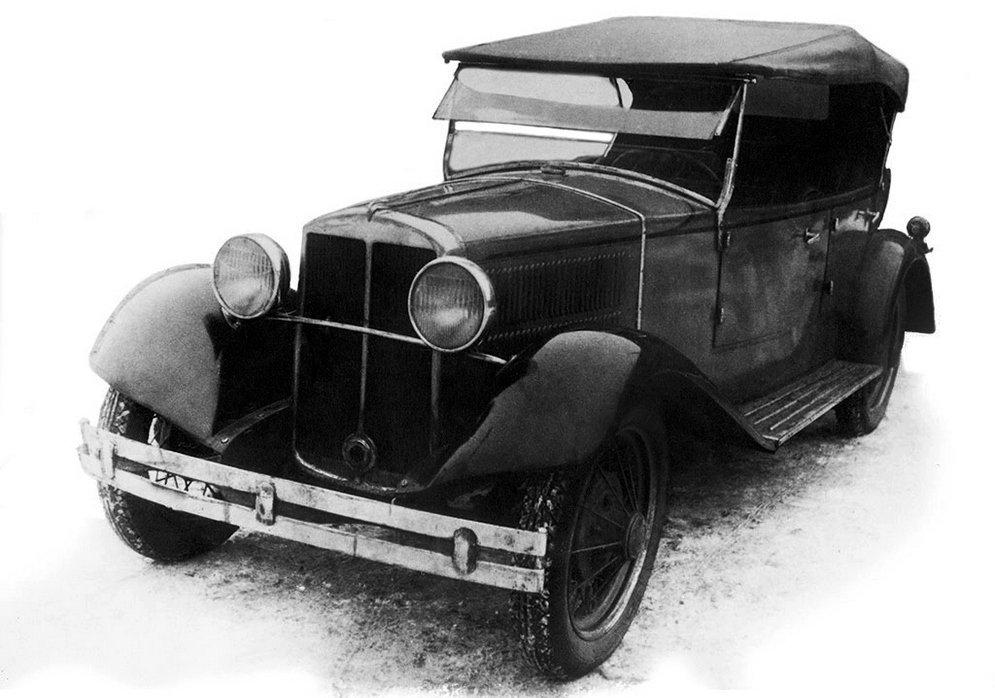 Опытный образец НАТИ-2 1932 года с кузовом родстер