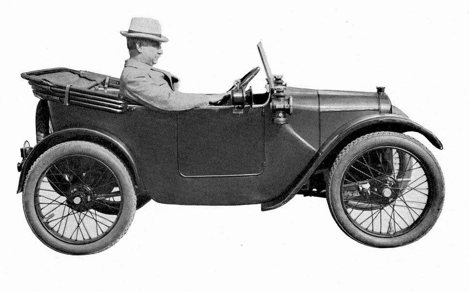 Самый первый «Chummy» 1922 года
