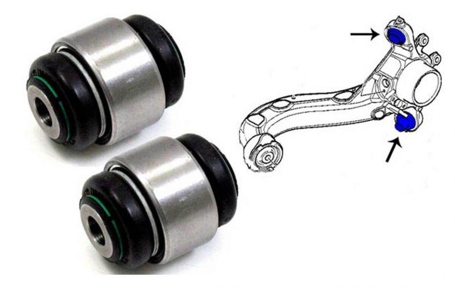 Что такое сайлентблоки в автомобиле? Зачем нужны и как поменять сайлентблоки?